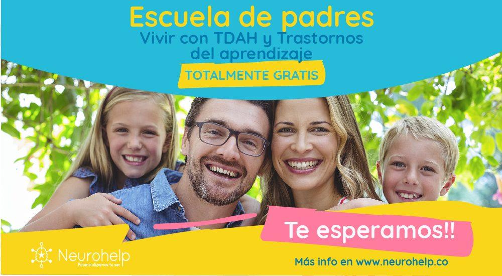 Neurohelp | ¡Taller Escuela de Padres Gratis! Tema: Hábitos de Estudio